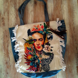 Sac denim recyclé Frida